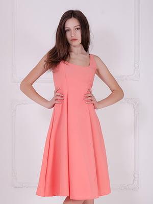 Сукня коралова | 5036735