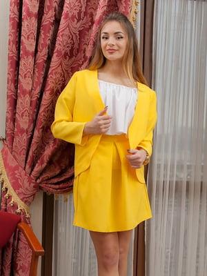 Жакет желтый | 5036767