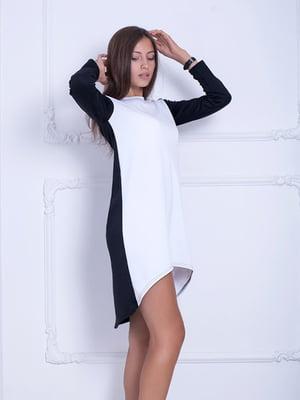 Платье черно-белое | 5036784