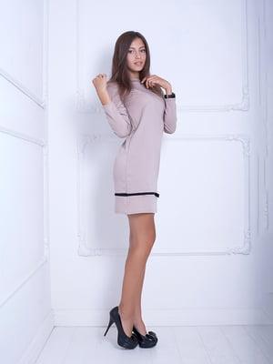 Платье бежевое | 5036820