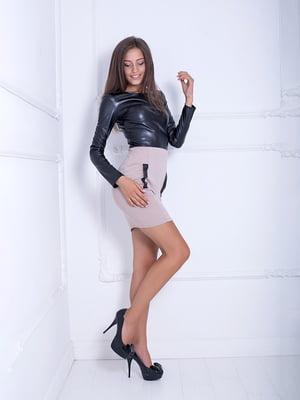 Платье бежевое | 5036979