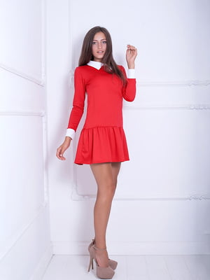 Платье красное | 5036985