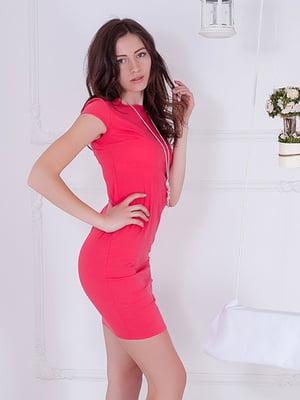 Платье коралловое | 5037119