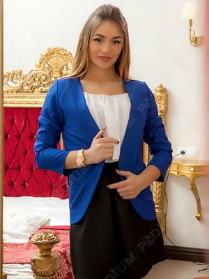 Жакет синій | 5037196