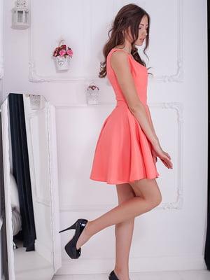 Платье персикового цвета | 5037221