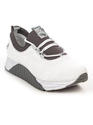 Кроссовки бело-серые | 4915426