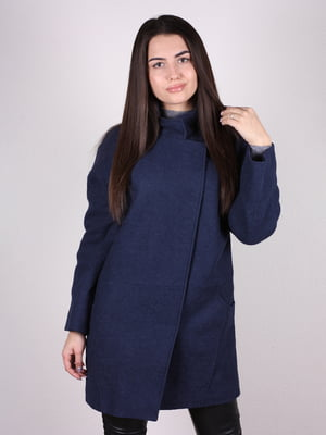 Пальто темно-синее | 5034303