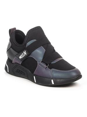 Кроссовки черно-фиолетовые | 4915237