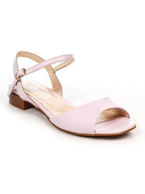 Босоніжки рожеві | 4965265