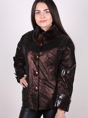 Куртка коричневая   5034462