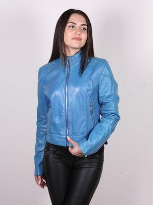 Куртка лазурного цвета   5034463