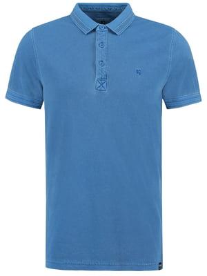 Футболка-поло синя | 5037510
