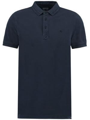 Футболка-поло темно-синя | 5037512