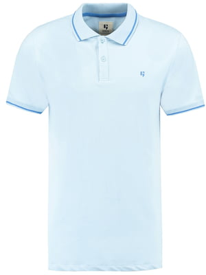 Футболка-поло блакитна | 5037521