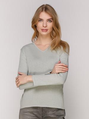 Пуловер светло-серый | 4906842