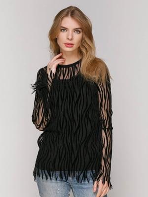 Блуза черная | 4477775