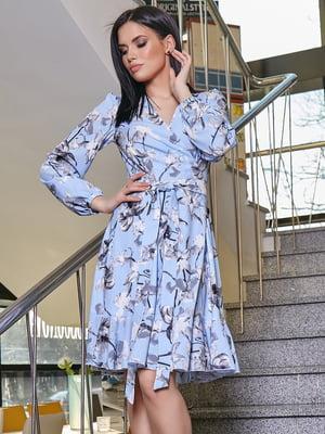 Платье в цветочный принт | 5037661