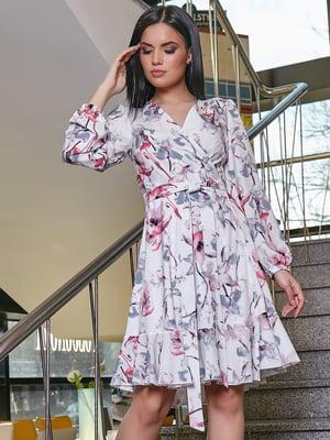 Платье в цветочный принт | 5037664