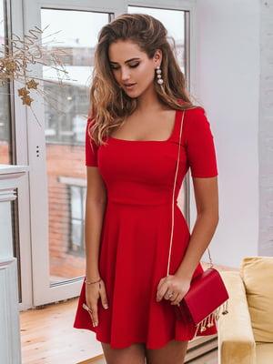 Платье красное   4986391
