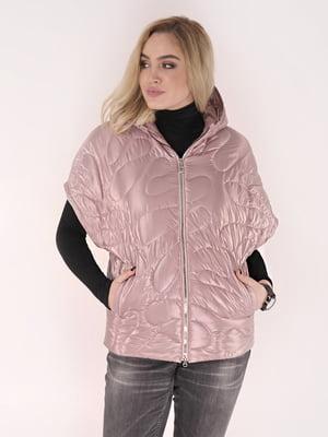 Жилет розовый   5039008