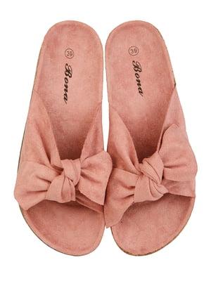 Шльопанці рожеві | 4959987