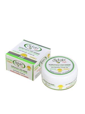 Крем для обличчя з алое-вера та оливковою олією (SPF 30) | 4986432