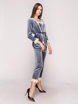 Пижама: халат, топ и брюки | 5029299