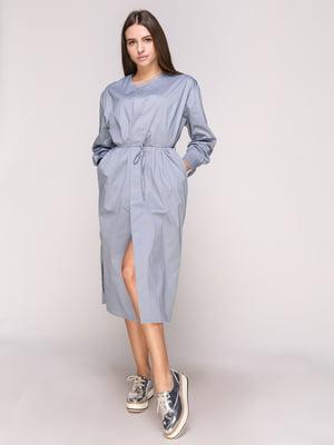 Сукня-халат блакитна | 5029338