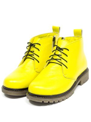 Черевики жовті   5043905