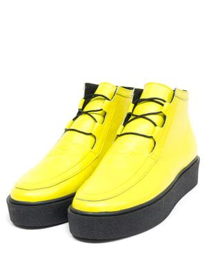 Черевики жовті   5043924