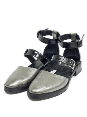Туфлі кольору нікелю   5043989