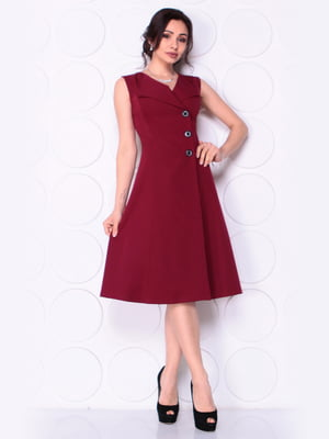 Платье сливового цвета | 5043870