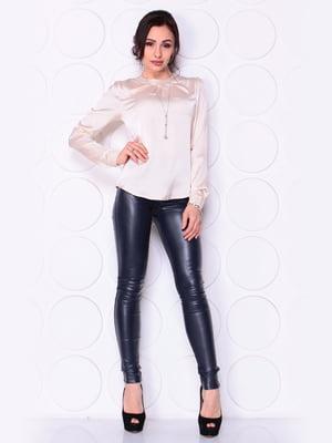 Блуза цвета пудры | 5043881