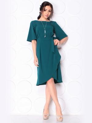 Сукня темно-бірюзового кольору | 5043887