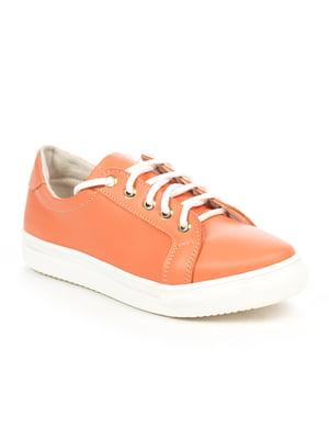 Кеды персикового цвета | 5037527