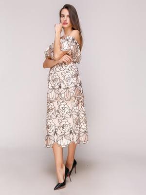 Сукня бежева | 5029318