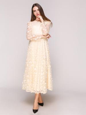 Сукня кольору пудри | 5029321