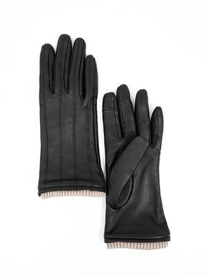 Рукавички чорні | 5044449