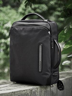 Сумка-рюкзак черная - AMO ACCESSORI - 5044493
