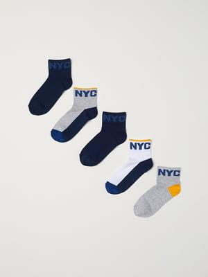 Набір шкарпеток (5 пар)   5045319