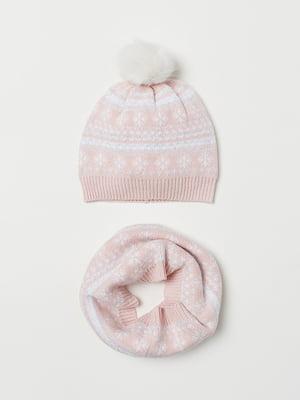 Комплект: шапка і шарф-снуд | 5046236