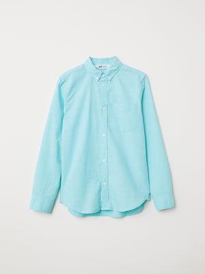 Рубашка голубая | 5046249