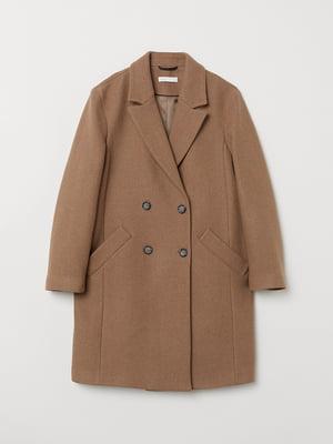 Пальто бежевое | 5046398