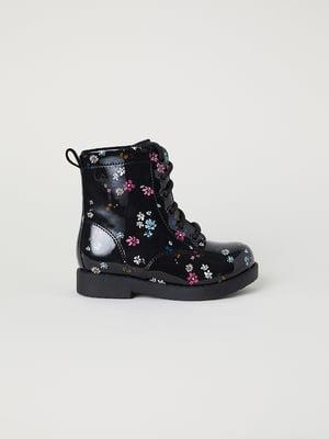 Ботинки черные   5046455
