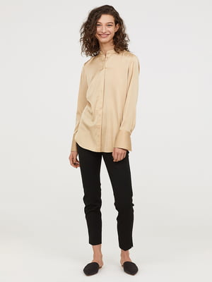 Рубашка бежевая | 5046534