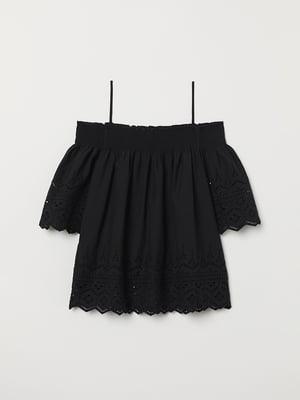 Блуза черная | 5046618
