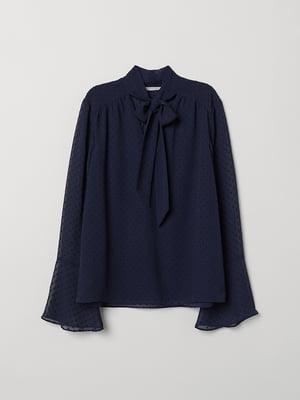 Блуза синяя | 5046803