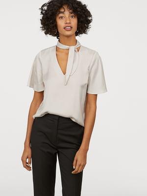 Блуза бежевая | 5047027