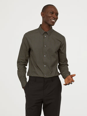 Рубашка в принт | 5047091