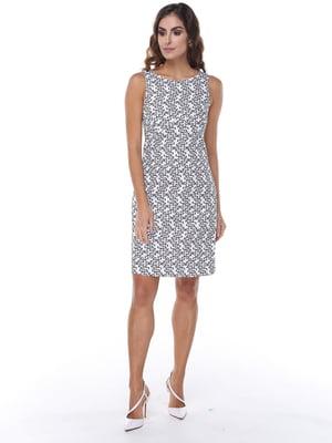 Платье черно-белое | 5047274